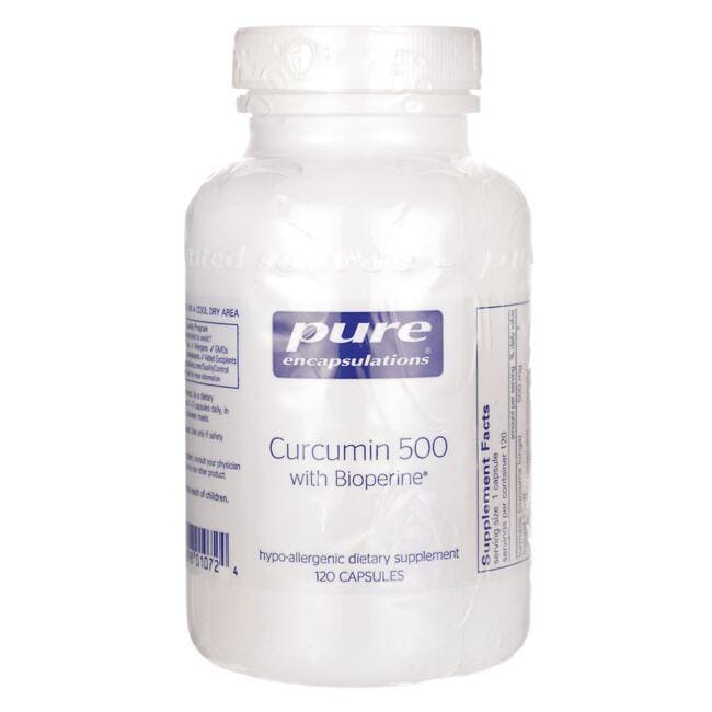 Pure EncapsulationsCurcumin 500 with Bioperine