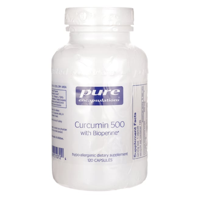 Pure EncapsulationsCurcumin 500 with Bioperine