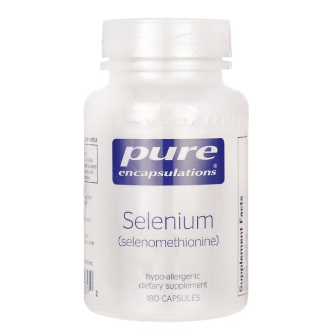 Pure EncapsulationsSelenium (selenomethionine)