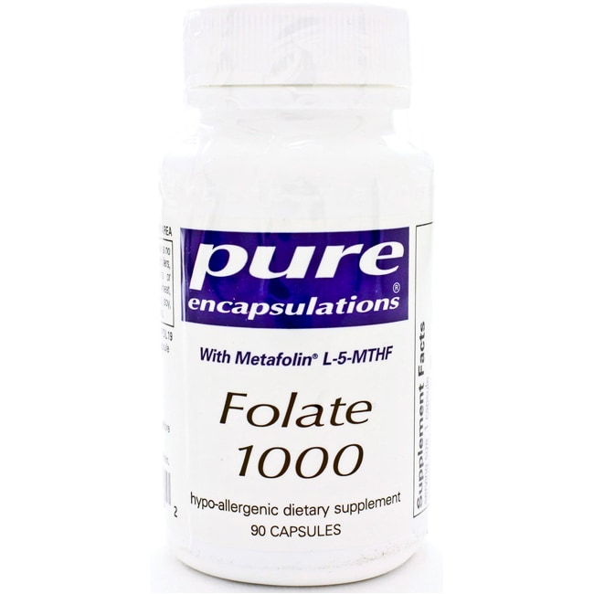 Pure EncapsulationsFolate 1000