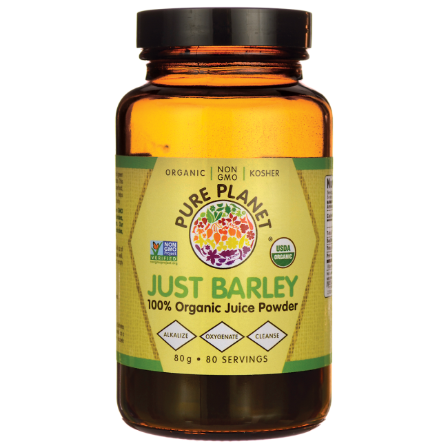 Pure PlanetJust Barley Nature's Organic Nutrition Support