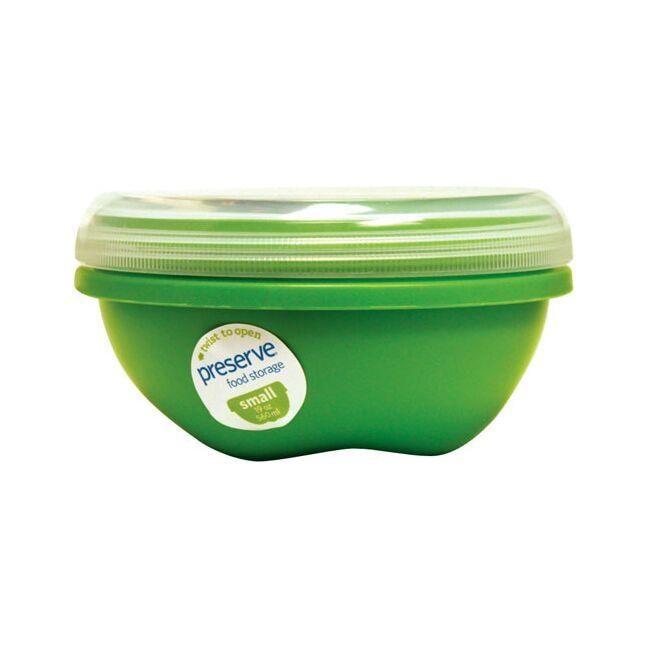 PreserveSmall Round Food Storage Apple Green