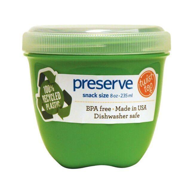PreserveMini Round Food Storage Apple Green
