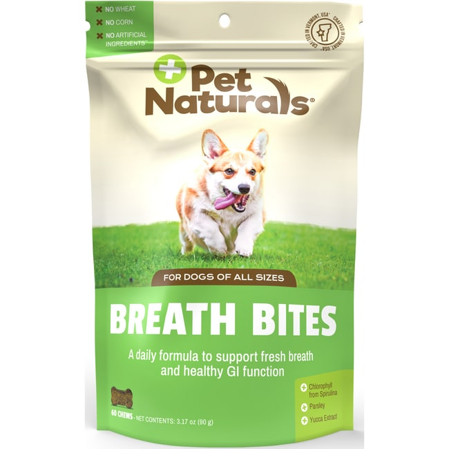 Pet Naturals Breath Bites For Dogs 60 Chews Swanson 174
