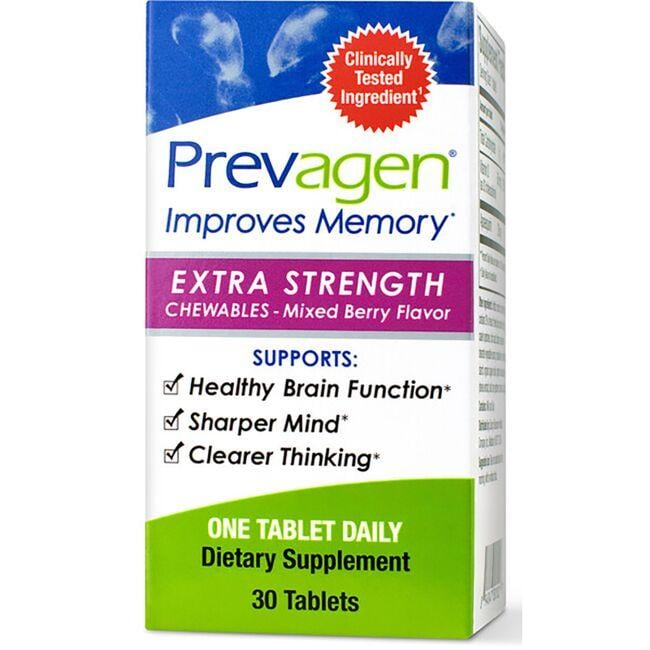 PrevagenPrevagen Extra Strength Chewables - Mixed Berry