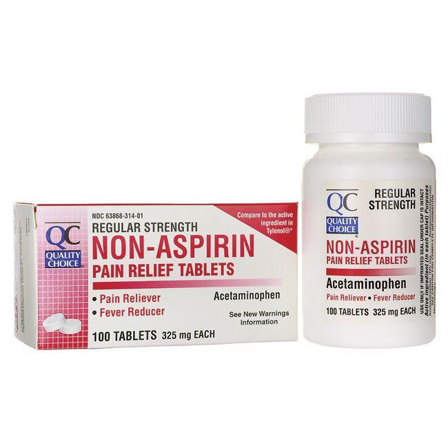Quality ChoiceNon-Aspirin - Regular Strength