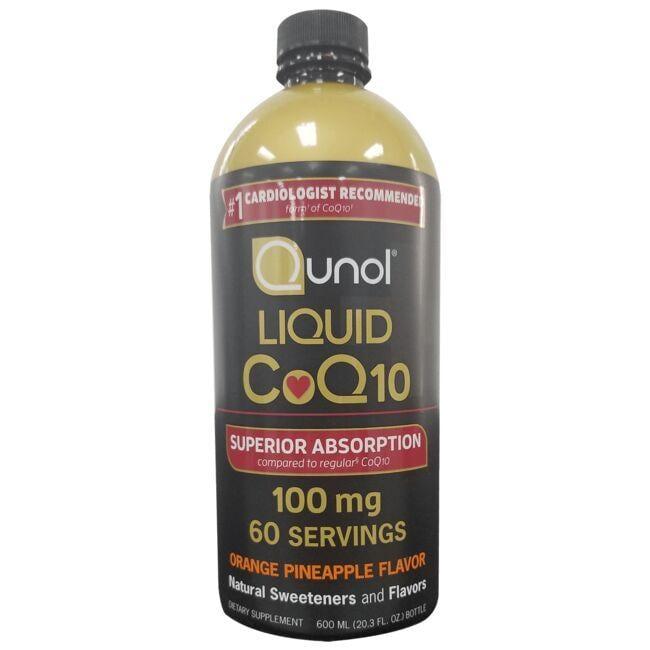 QunolLiquid CoQ10 - Orange Pineapple