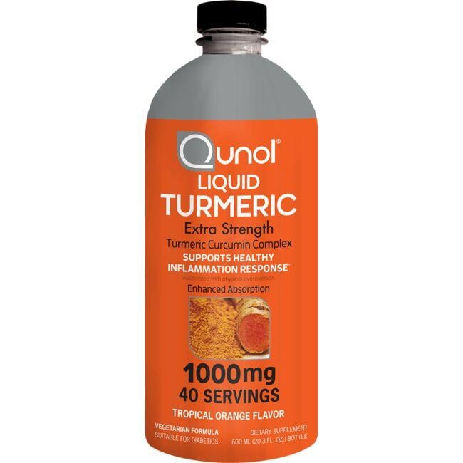 Qunol Liquid Turmeric Extra Strength - Tropical Orange