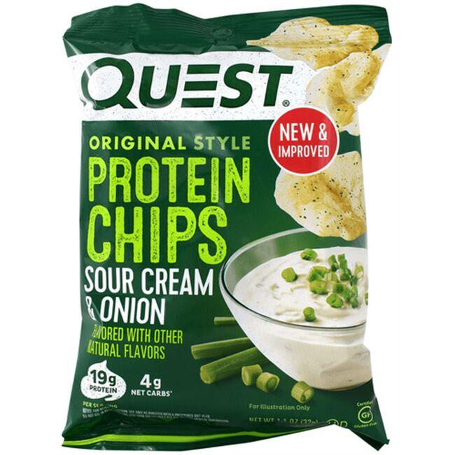 quest nutrition protein chips sour cream onion 1 1 8 oz 32 g bag s swanson health products. Black Bedroom Furniture Sets. Home Design Ideas