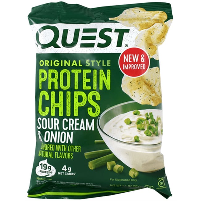 Quest NutritionProtein Chips - Sour Cream & Onion