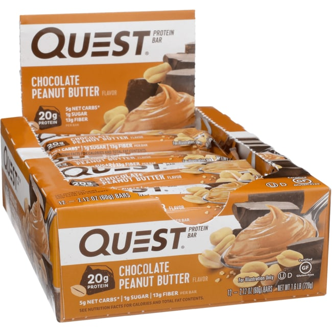 Quest NutritionQuestBar Protein Bar - Chocolate Peanut Butter