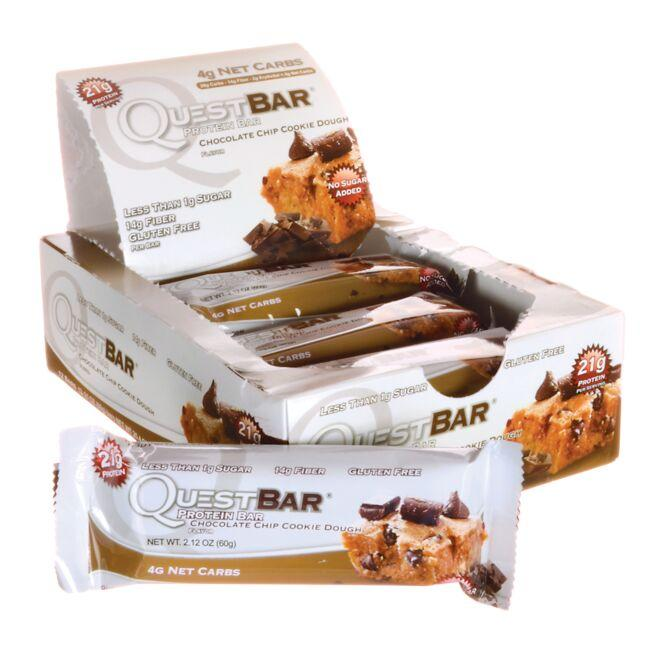 Quest NutritionQuestBar Protein Bar - Chocolate Chip Cookie Dough