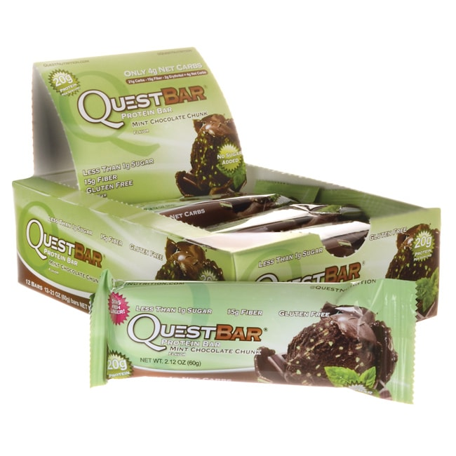 Quest NutritionQuestBar Protein Bar - Mint Chocolate Chunk