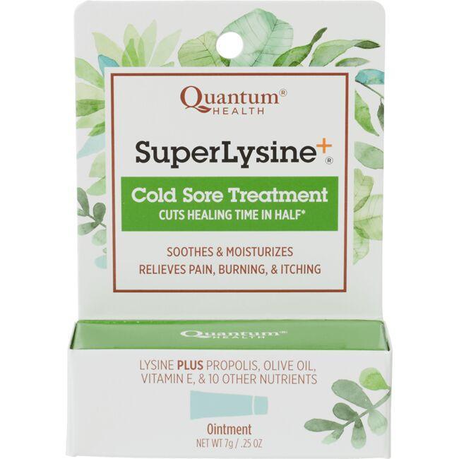 Quantum HealthSuper Lysine+ Cold Sore Treatment