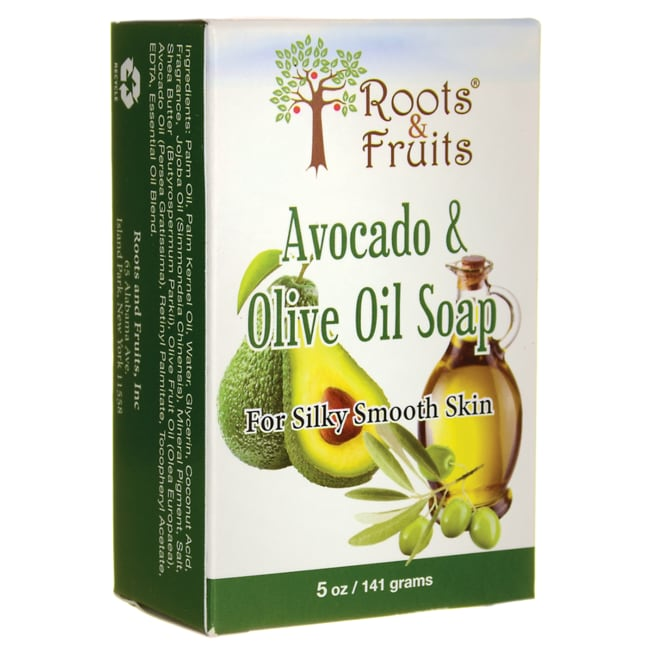 Roots & FruitsAvocado & Olive Oil Soap