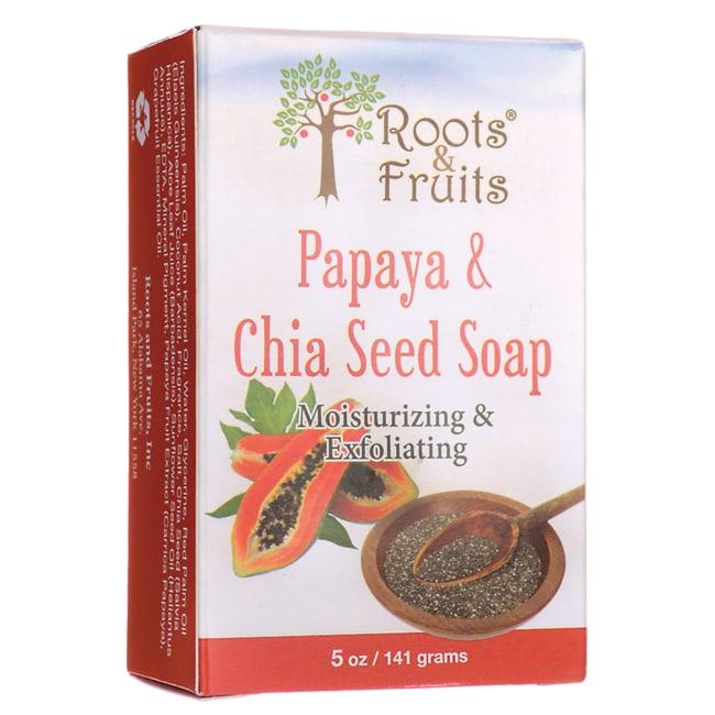 Roots & FruitsPapaya & Chia Seed Soap