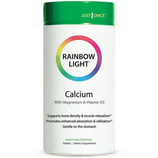 Rainbow Light Food Based Calcium 500 Mg 180 Tabs Swanson