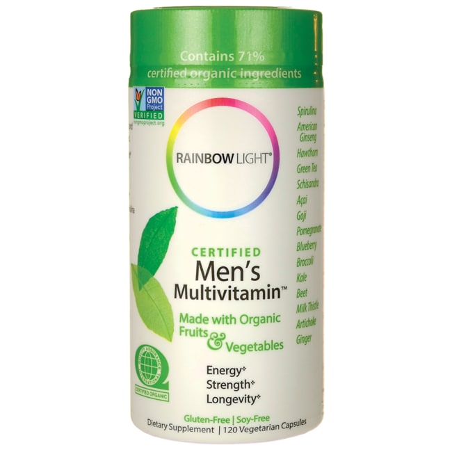 Rainbow LightCertified Organics Men's Multivitamin