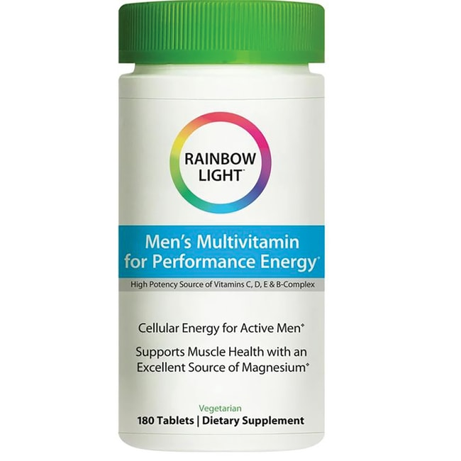 Rainbow Light Performance Energy for Men Food-Based Multivitamin
