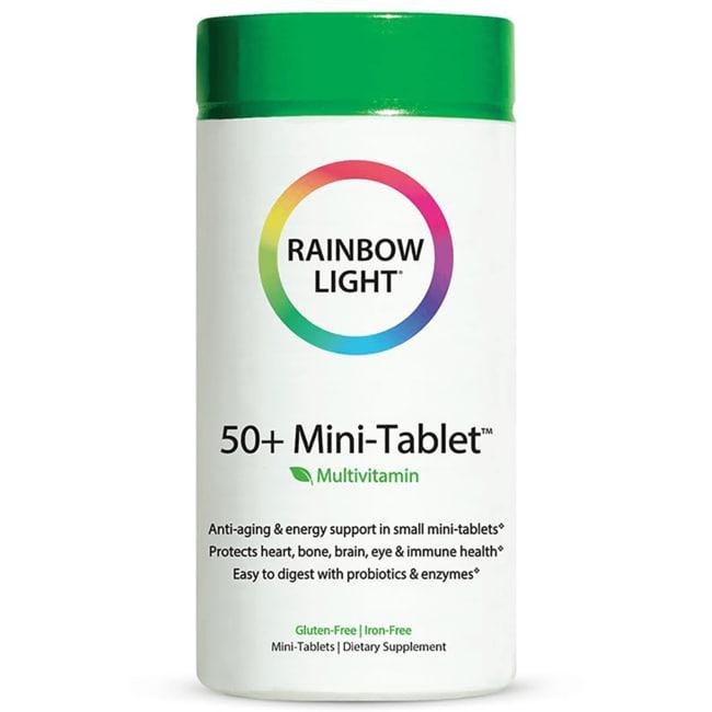 Rainbow Light 50+ Mini-Tablet Food-Based Multivitamin