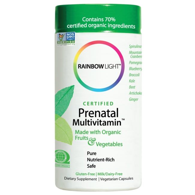 Rainbow Light Certified Organics Prenatal Multivitamin