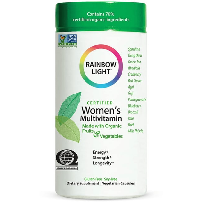 Rainbow Light Certified Organics Women's Multivitamin