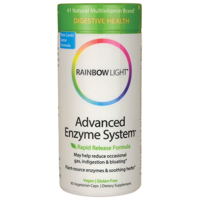 rainbow light advanced enzyme system digestive enzyme supplement. Black Bedroom Furniture Sets. Home Design Ideas
