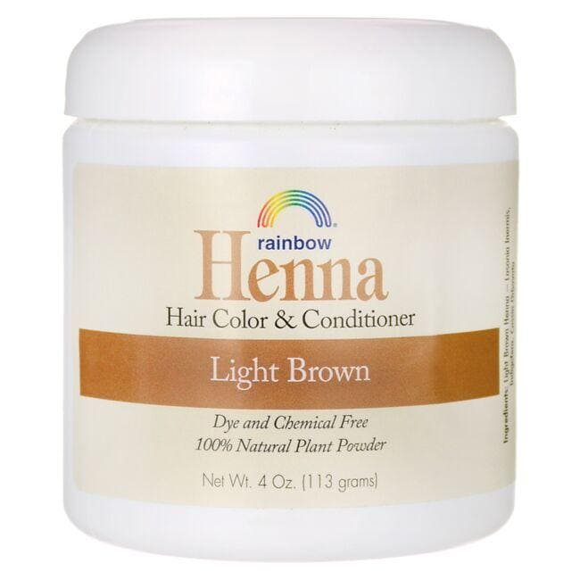 Rainbow Research Henna Hair Color & Conditioner - Light Brown