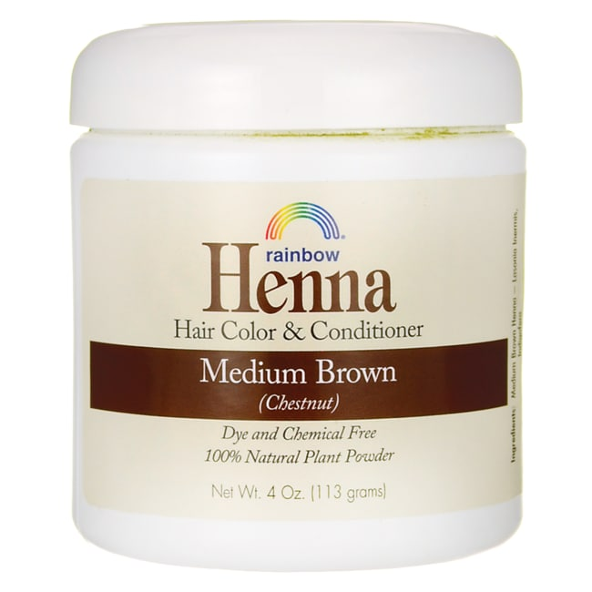 Rainbow ResearchHenna Hair Color & Conditioner Persian Medium Brown Chestnut