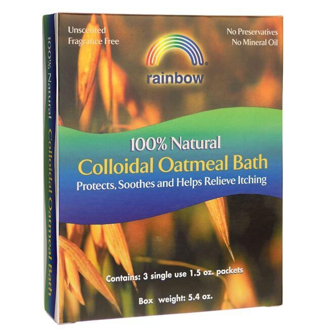 Rainbow Research Unscented Colloidal Oatmeal Bath