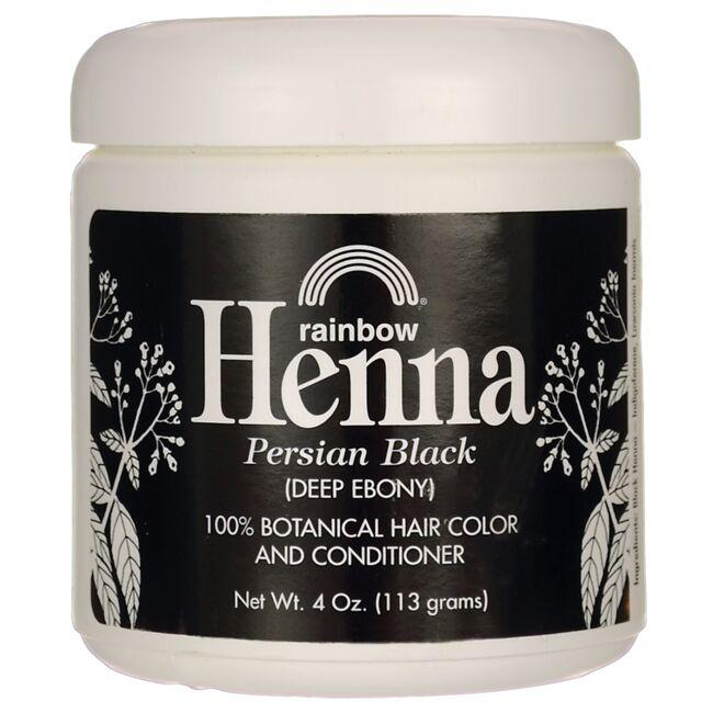 Rainbow Research Henna Hair Color & Conditioner - Black (Deep Ebony)