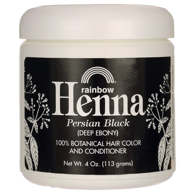 Rainbow ResearchHenna Hair Color & Conditioner - Black (Deep Ebony)
