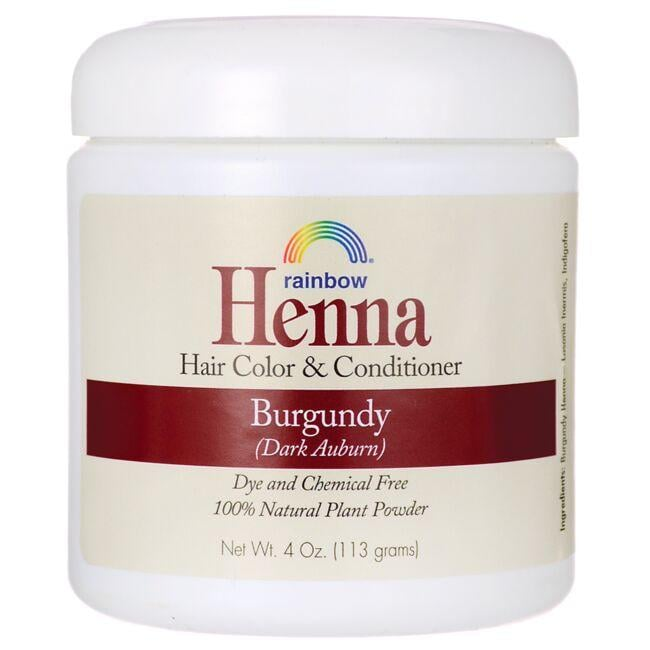Rainbow Research Henna Hair Color & Conditioner - Burgundy (Dark Auburn)