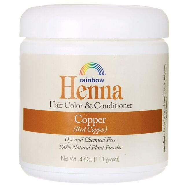 Rainbow Research Henna Hair Color Conditioner Copper Red Copper