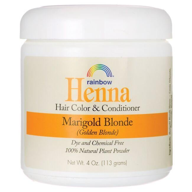 Rainbow Research Henna Hair Color Conditioner Marigold Blonde