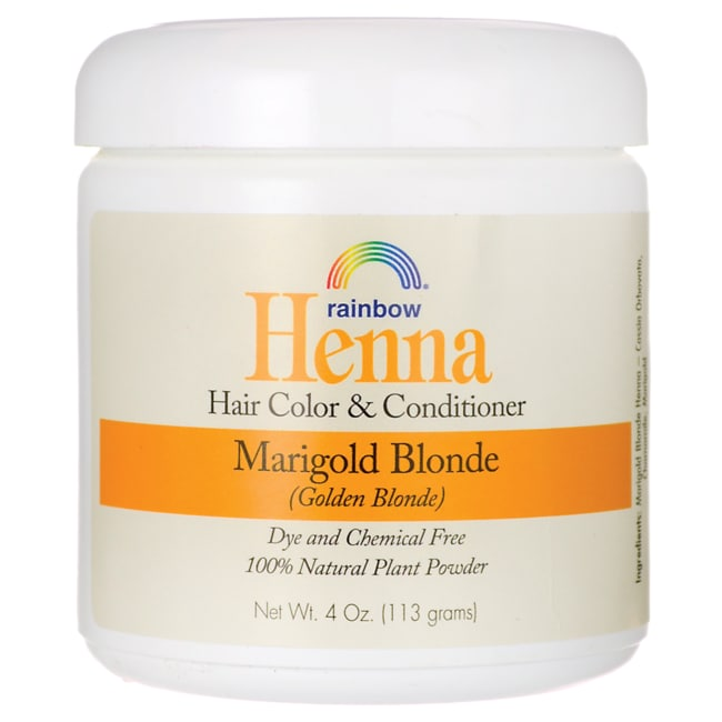 Rainbow ResearchHenna Hair Color & Conditioner - Marigold Blonde (Golden Blonde)