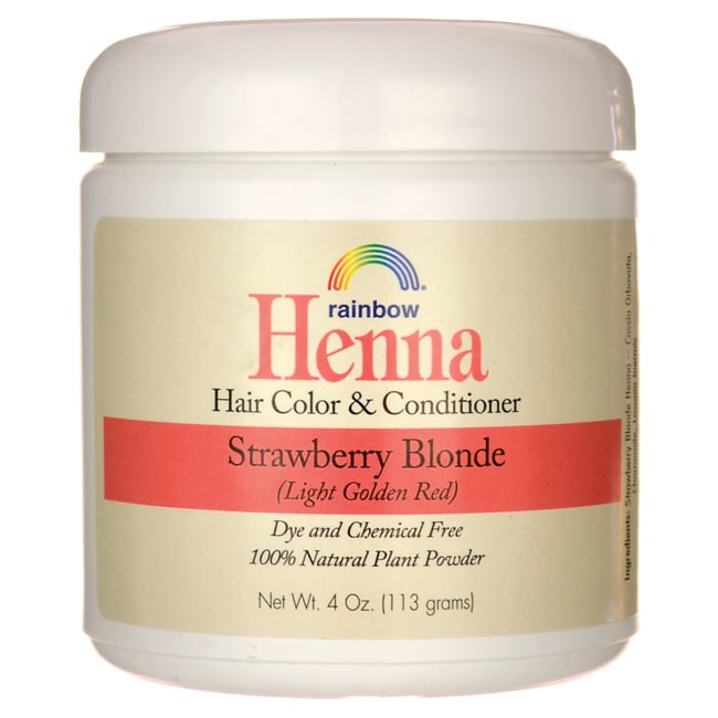 Rainbow ResearchHenna Hair Color & Conditioner - Strawberry Blonde (Lt Golden Red)