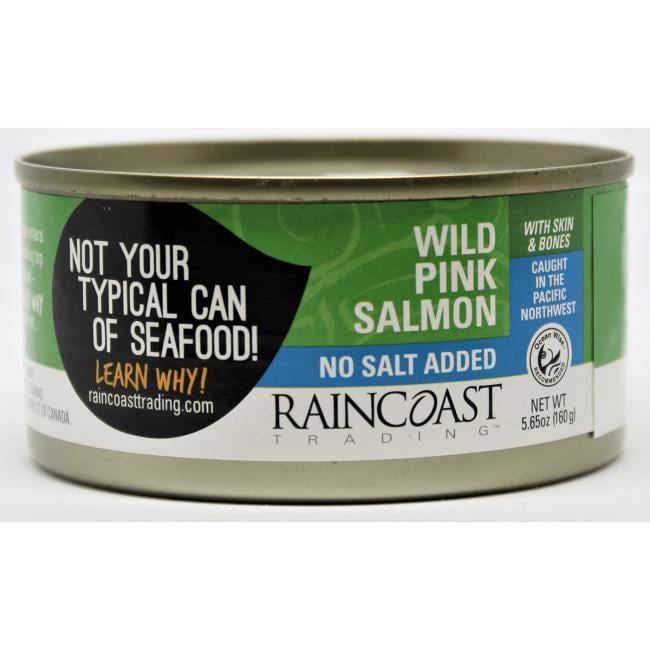 RaincoastWild Pink Salmon No Added Salt