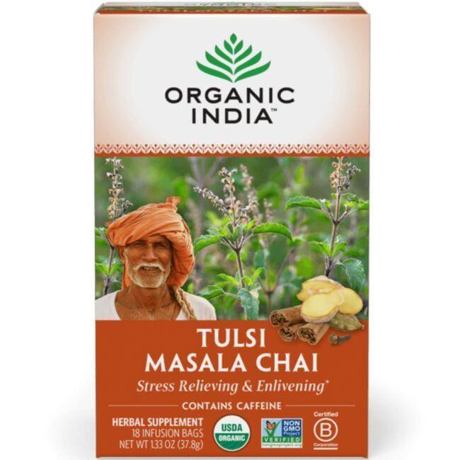 Organic IndiaTulsi Masala Chai Tea