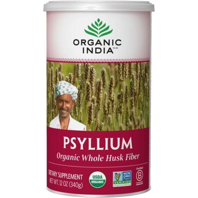Organic IndiaOrganic Whole Husk Psyllium