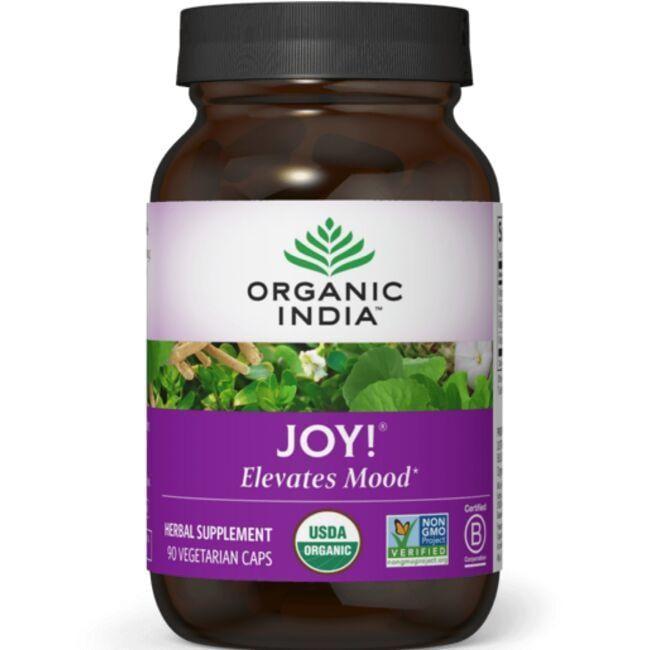 Organic IndiaJoy! Uplifts Mood
