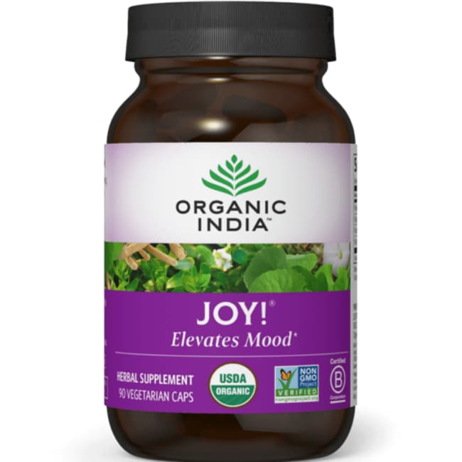 Organic IndiaJoy! Uplifts Mood