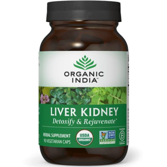 Organic India Liver Kidney Detoxify & Rejuvenate