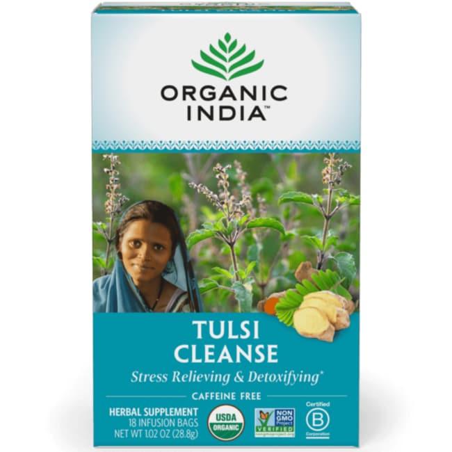 Organic IndiaTrue Wellness Tulsi Cleanse Tea