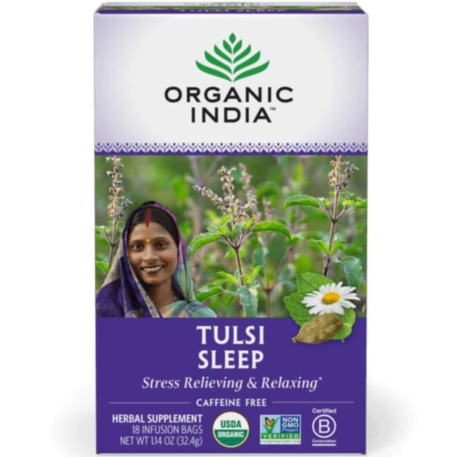 Organic India True Wellness Tulsi Sleep Tea