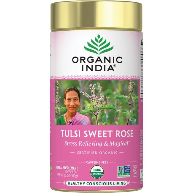 Organic IndiaTulsi Loose Leaf Tea - Sweet Rose