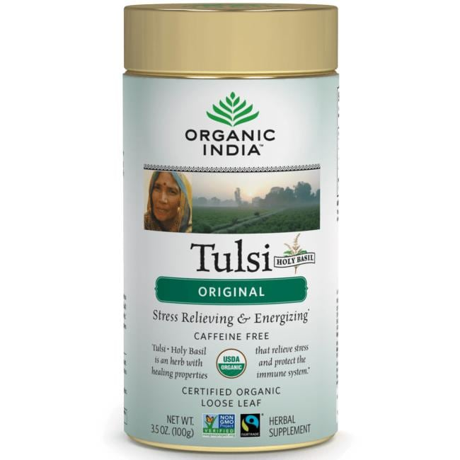 Organic India Tulsi Original Loose Leaf Tea