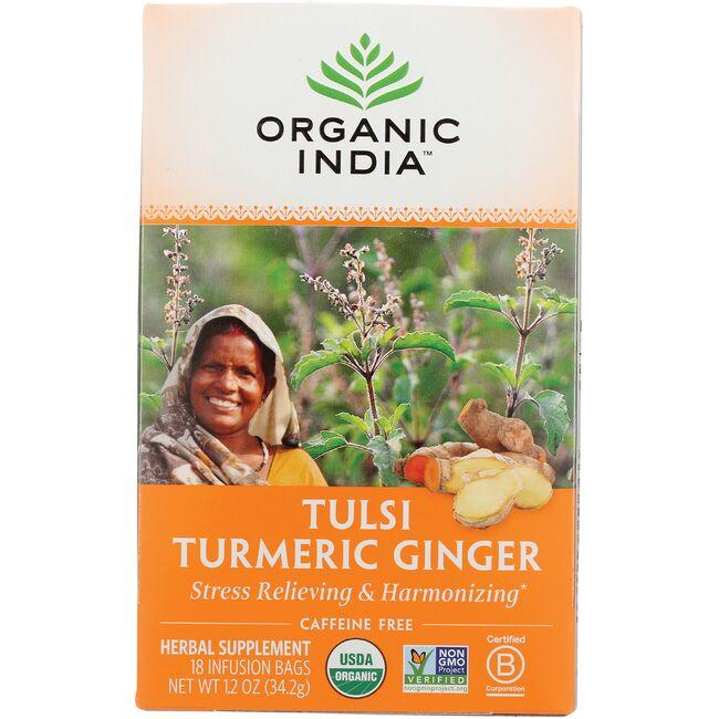Organic IndiaTulsi Turmeric Ginger Tea