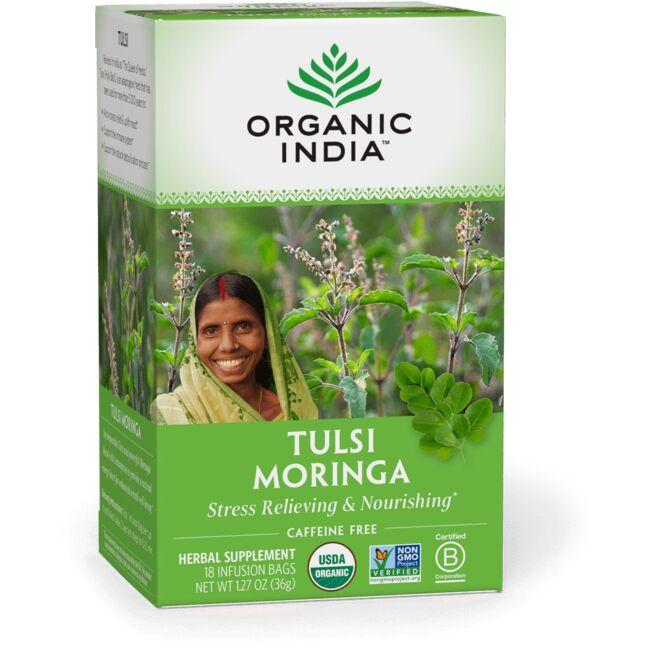 Organic India Tulsi Moringa Tea