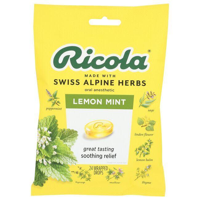 RicolaNatural Herb Throat Drops Lemon Mint